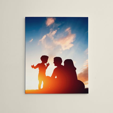 "Personalized 16"" x 20"" Photo / Image Canvas Gallery Wrap Print"