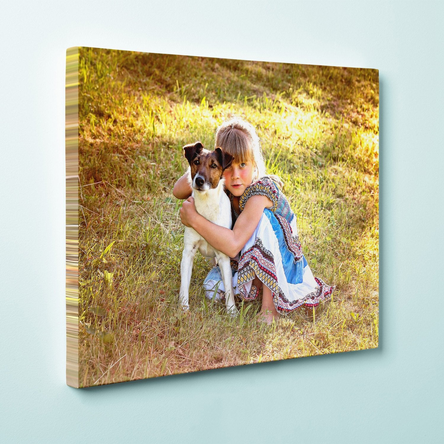 "Personalized 20"" x 24"" Photo / Image Canvas Gallery Wrap Print"