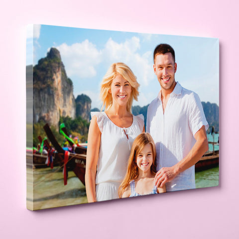 "Personalized 24"" x 36"" Photo / Image Canvas Gallery Wrap Print"
