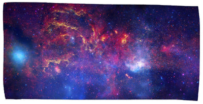 "Center of the Milky Way Galaxy 30"" x 60"" Microfiber Beach Towel"