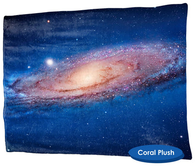 Andromeda Throw Blanket / Tapestry Wall Hanging - Standard Multi-color