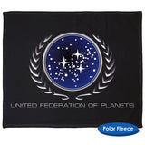 Star Trek Federation Emblem Throw Blanket / Tapestry Wall Hanging