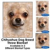 Chihuahua Dog Breed Throw Blanket / Tapestry Wall Hanging