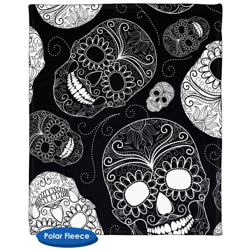 Sugar Skulls Throw Blanket / Tapestry Wall Hanging