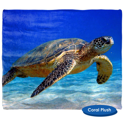 Sea Turtle Throw Blanket / Tapestry Wall Hanging