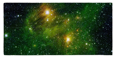 "Hydrocarbons In Space 30"" x 60"" Microfiber Beach Towel"