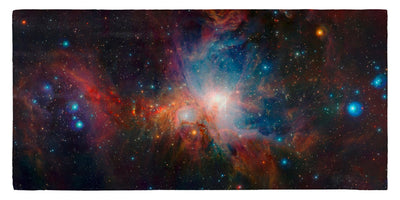 "Infrared View of the Orion Nebula 30"" x 60"" Microfiber Beach Towel"