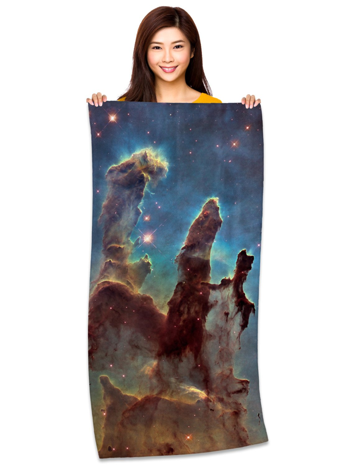 "Pillars of Creation 30"" x 60"" Microfiber Beach Towel"