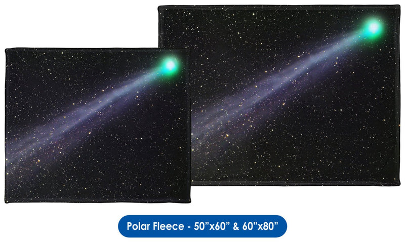 C/2014 Lovejoy Comet - Throw Blanket / Tapestry Wall Hanging