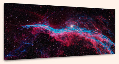 "The Veil Nebula, NGC 6960 (16"" x 24"") - Canvas Wrap Print"
