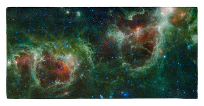 "Heart and Soul Nebulae 30"" x 60"" Microfiber Beach Towel"