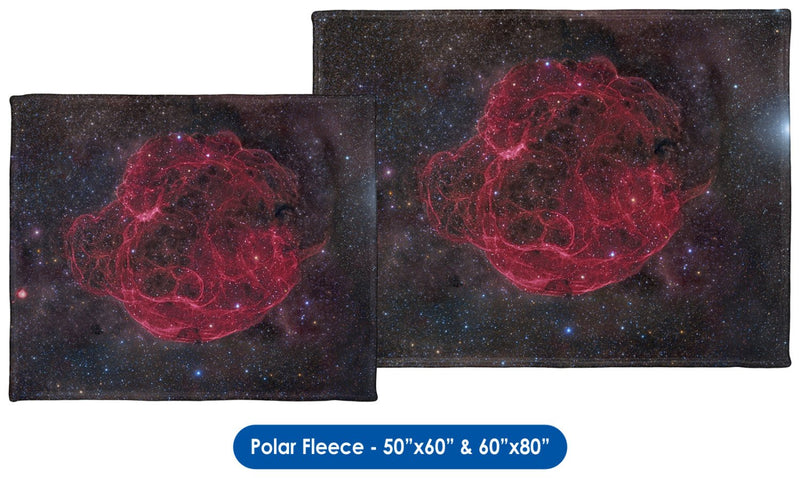 Spaghetti Nebula - Throw Blanket / Tapestry Wall Hanging