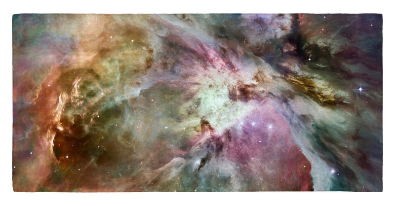 "Different Slant on Orion Nebula 30"" x 60"" Microfiber Beach Towel"
