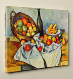 "Paul Cézanne's ""The Basket of Apples"" (11"" x 14"") - Canvas Wrap Print"