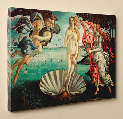The Birth of Venus by Sandro Botticelli - Canvas Print, 36 by 24 Inch