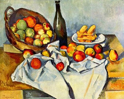 "Paul Cézanne's ""The Basket of Apples"" (14"" x 18"") - Canvas Wrap Print"