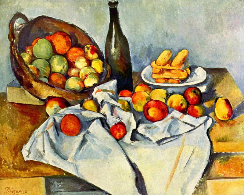"Paul Cézanne's ""The Basket of Apples"" (16"" x 20"") - Canvas Wrap Print"