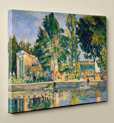 "Paul Cézanne's ""Jas de Bouffan, the Pond"" (16"" x 20"") - Canvas Wrap Print"