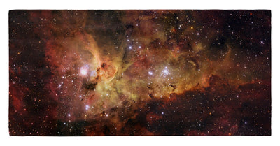 "ESO - The Carina Nebula 30"" x 60"" Microfiber Beach Towel"