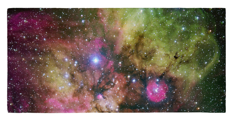"NGC 2467 and Surroundings 30"" x 60"" Microfiber Beach Towel"