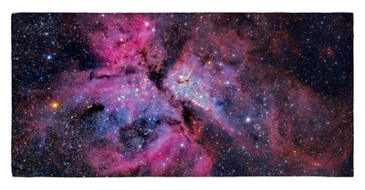 "Los Molinos Observatory View of Carina 30"" x 60"" Microfiber Beach Towel"