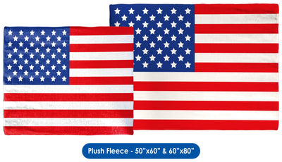 USA Flag Throw Blanket / Tapestry Wall Hanging