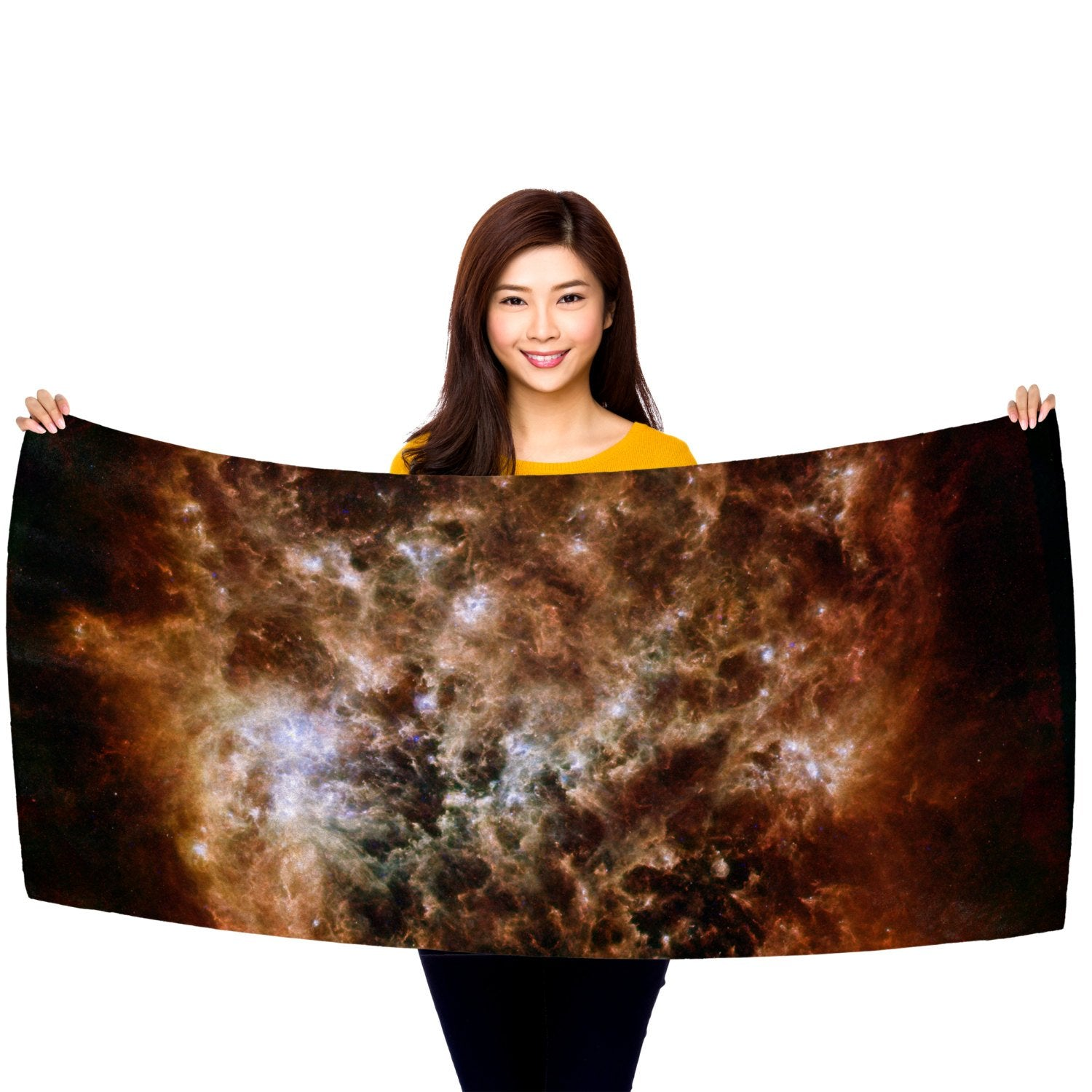 "Magellanic Cloud 30"" x 60"" Microfiber Beach Towel"