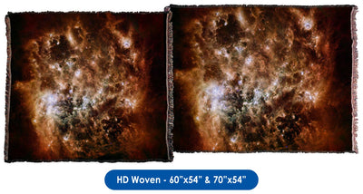 Magellanic Cloud - Throw Blanket / Tapestry Wall Hanging