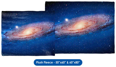 The Andromeda Galaxy for NES, Pixel Art - Throw Blanket / Tapestry Wall Hanging