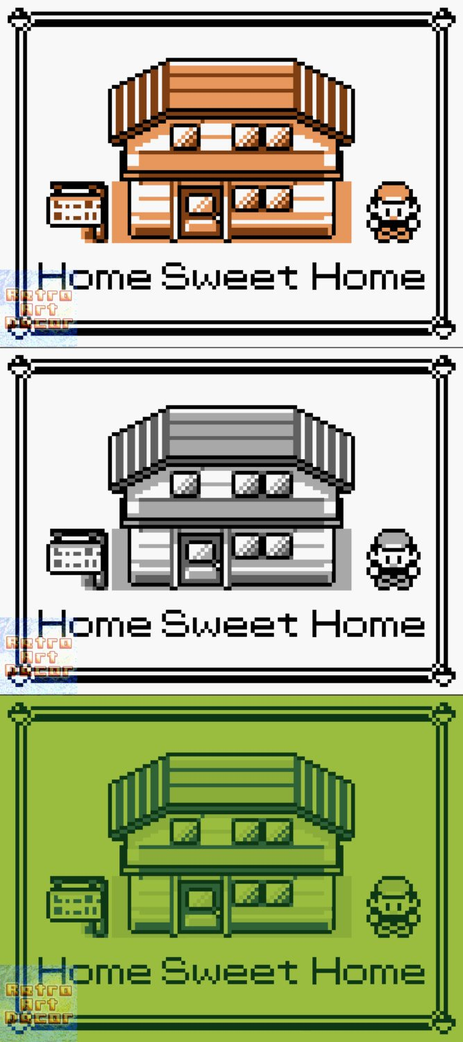 "Pokemon, ""Home Sweet Home"" - 18"" x 24"" Doormat Welcome Floormat"