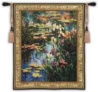 "Summer Lily - 53""x64"" Tapestry Wall Hanging"