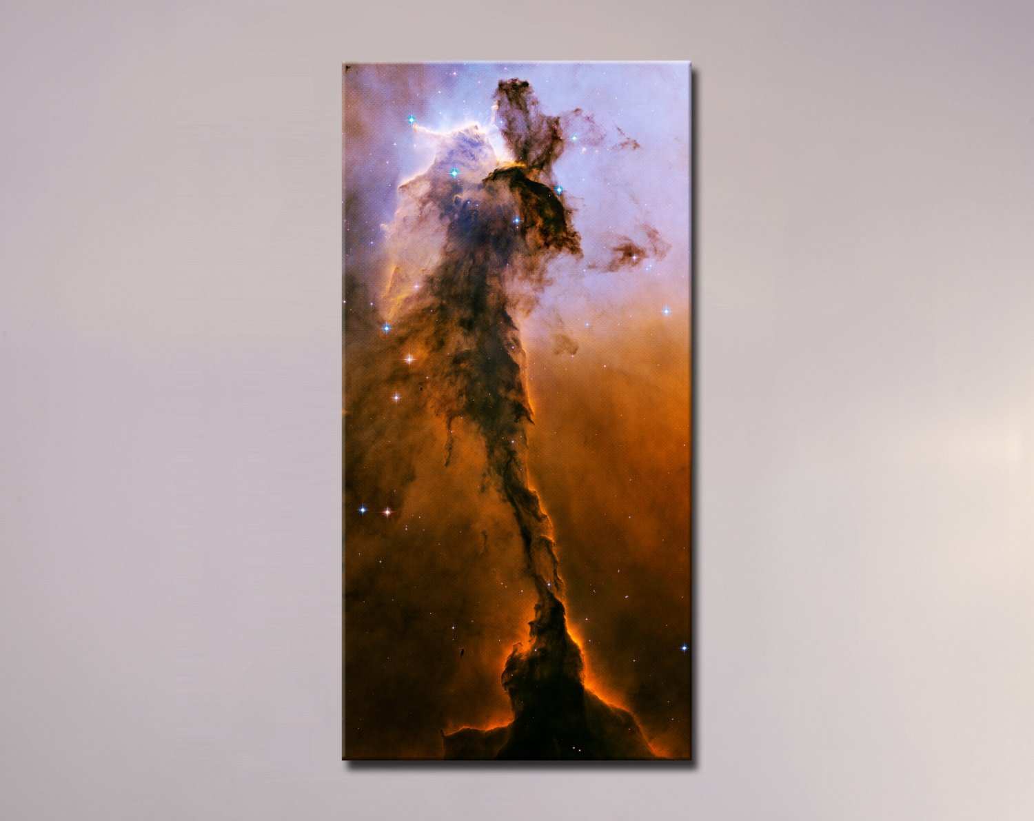 "Stellar Spire in the Eagle Nebula (18"" x 36"") - Canvas Wrap Print"
