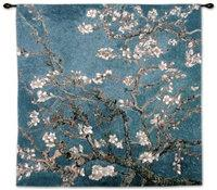 "Almond Blossom - 35"" x 35"" Tapestry Wall Hanging"