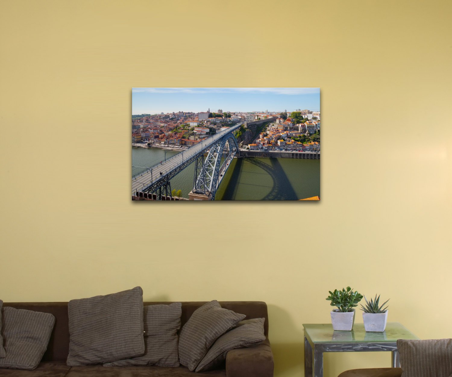 "Porto, Portugal (12"" x 20"") - Canvas Wrap Print"
