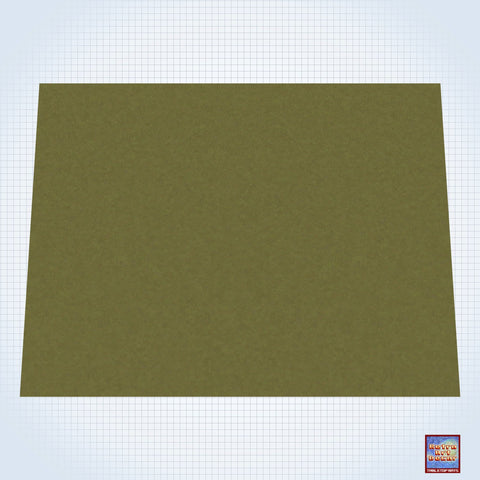 "Grassy Field - #GM300 - 60"" x 80"" (4' x 6' plus) Fleece Table Top Gaming Mat"