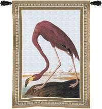 "Greater Flamingo - 27""x36"" Tapestry Wall Hanging"