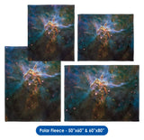 Mystic Mountain, HD Hubble Image - Throw Blanket / Tapestry Wall Hanging