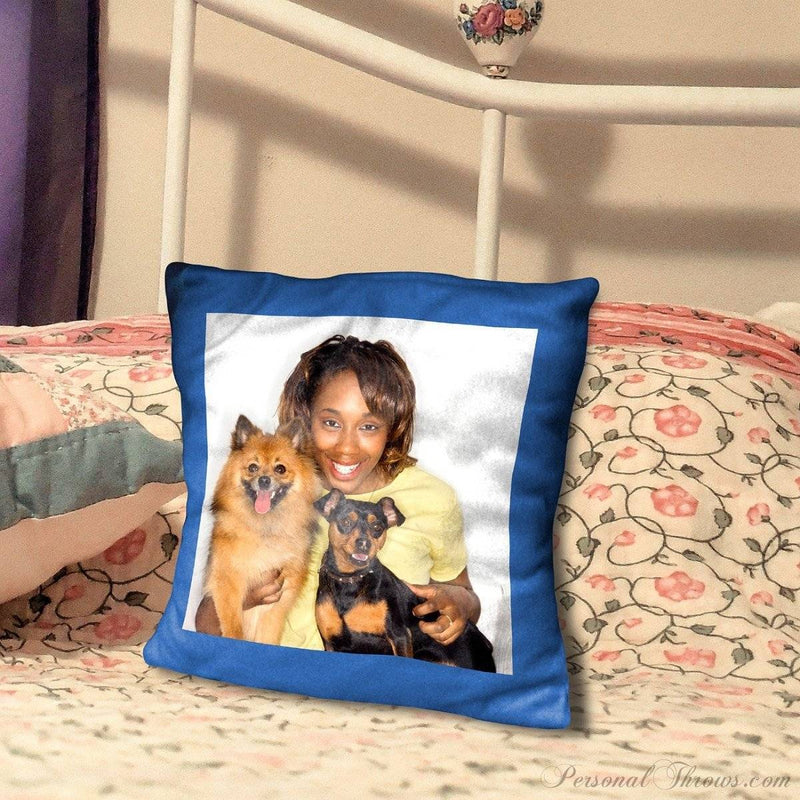 "16""  Personalized Ultra Soft Microfiber Photo Pillow"