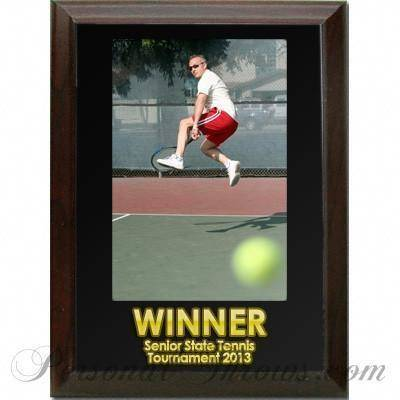 "Other Photo Gifts,Other Products - Photo Award Plaque 6"" X 8"" - Cherry Ogee Edge"