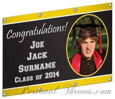 Other Products - 2'x3'  Customizable Graduation Banner