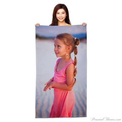 "Other Products,Valentine's Day Gifts,Photo Towels - 35"" X 65"" Jumbo Heavyweight Photo Beach Towel"