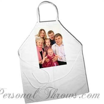"Photo Apparel,Holiday Gifts - Personalized Photo Apron - 27"" X 31"""