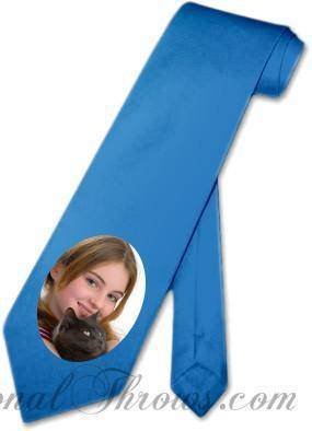 Photo Apparel,Other Products - Personalized Photo Neck Tie