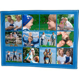 "Photo Blankets - Full Service Photo Collage Polar Fleece Blanket - 60"" X 80"""