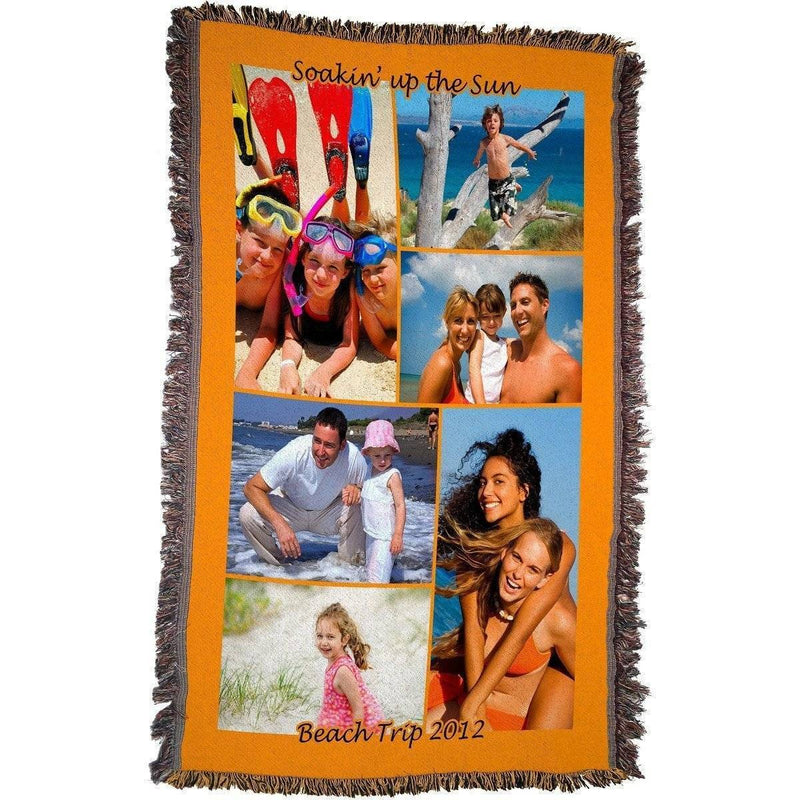 "HD Woven Full Service Collage Blanket 54""x38"" (Small)"