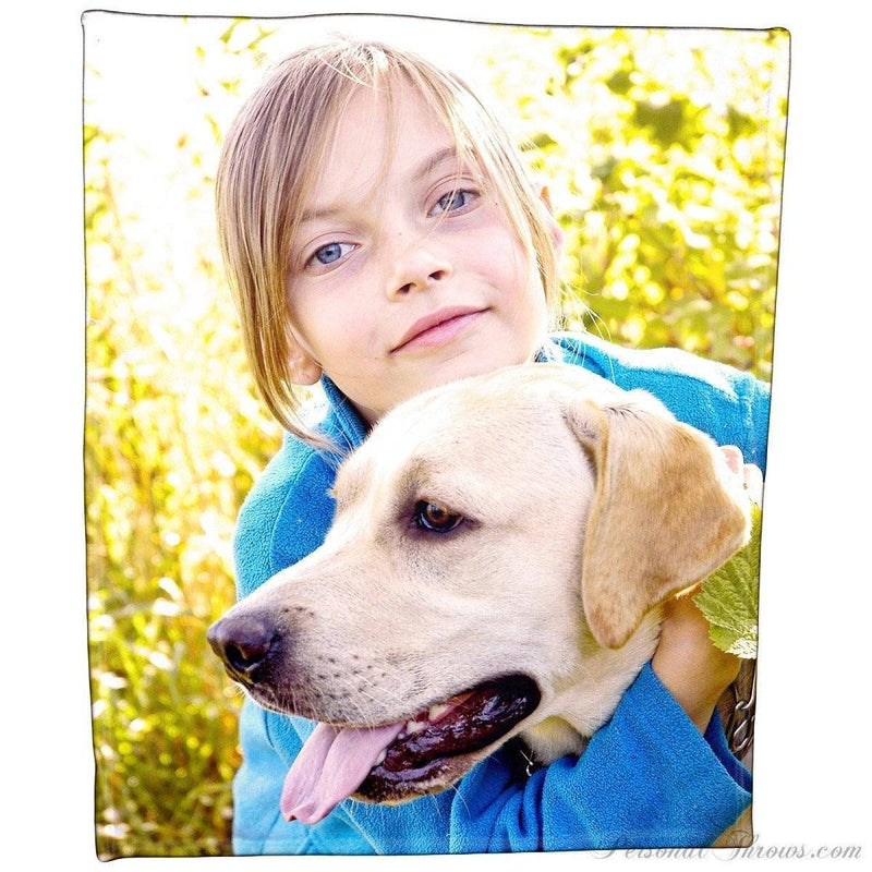 "Polar Fleece Photo Blanket - 50"" x 60"""
