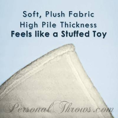 "Plush Fleece Mini Photo Blanket - 30"" x 40"""