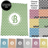 "Photo Blankets,Monogrammed Gifts,Mother's Day Gifts - Chevron Monogrammed Plush Fleece Blanket-50""x60"""