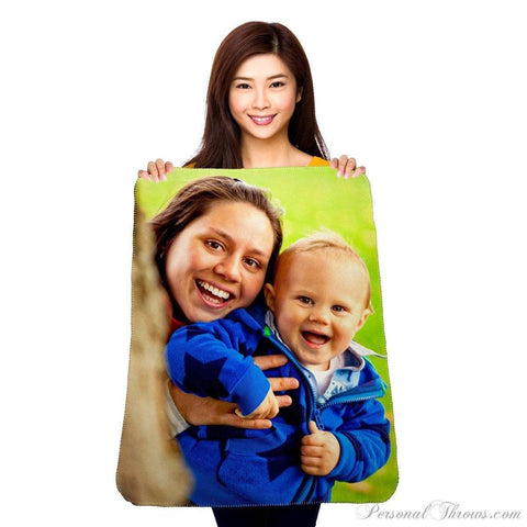 "Photo Blankets - Polar Fleece Mini Photo Blanket - 30"" X 40"""