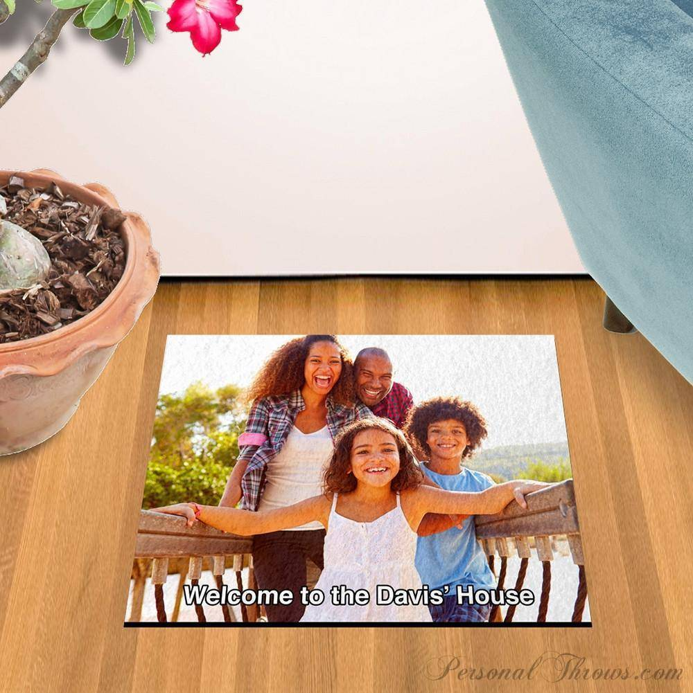 "Small Photo Floor Mat, 18"" x 24"", 8 oz Felt, Durgan Backed"